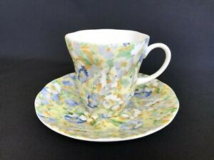 Vintage Rosina Queen S English Chintz Fine Bone Porcelain Tea Cup