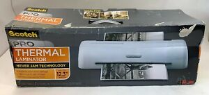 3m Scotch Pro Thermal Laminator Up To 12 3 Width never Jams Technology new