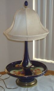 Dresden Quality Hand Painted Porcelain Table Lamp