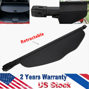 Retractable Trunk Cargo Cover Security Fit 2014 18 Nissan Rogue Sv Or X trail Us