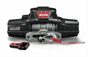 Warn Zeon 12 S Platinum Winches 12 000 Lb 12 Volts 95960 Free Shipping