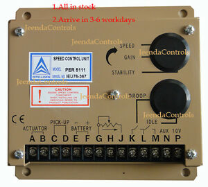 New Electronic Engine Speed Controller Governor 5111 5111e Generator Genset Part