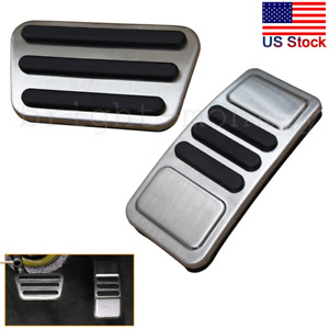 Sport Pedal Cover Gas Accelerator Brake Pad Accessory For Ford Mustang 2015 2019