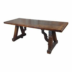 Spanish Colonial Gorgeous Dining Table Walnut