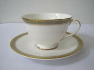 Vintage Clarendon Royal Doulton Tea Cup And Saucer English Fine Bone China