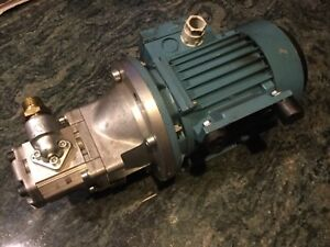 Snp1 3 8 D Co01 Sundstrand Hydraulic Gear Pump Plus Abb Motor Automation Line