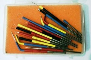 New 13 Pcs Set Of Dental And Dermatology Electrodes Tips For Electrosurgery