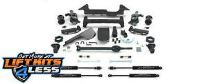Fabtech K5001m 6 Lift Kit W Shocks For 03 05 Hummer H2 Suv sut 4wd Oe Air Bags
