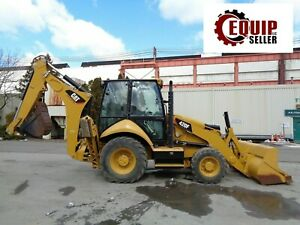 2014 Caterpillar 420f Backhoe Loader Enclosed Cab Heat Ac