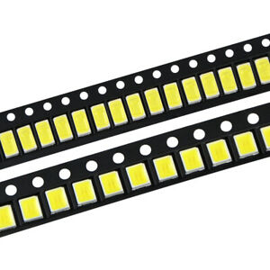 100pcs lot Led Diodes White 2835 5730 505 Smd Leds Diode Chip Lamp Beads Bright