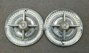 1950 s Dodge Hubcaps Wheelcovers W Spinners