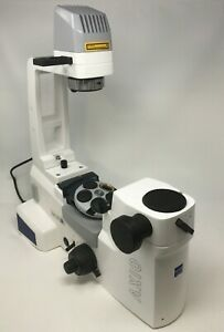 Zeiss Microscope Axio Inverted Florescent Vert a1