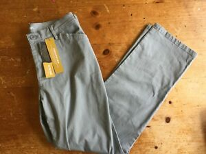 NWT LEE ALL DAY PANT RELAXED FIT GRAY PANTS SZ 8 MEDIUM WOMENS B23 $24.88