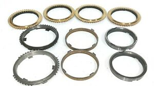 Complete Synchro Ring Set Fits 2001 2010 Tr3650 Trans 10 Pc Rk3650c