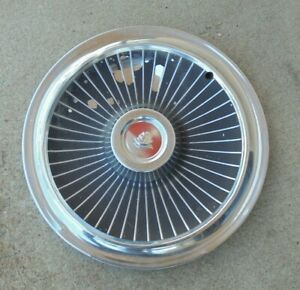 14 1968 Mercury Cemet Wire Type And Mag W o Spinner Hubcap Wheel Cover