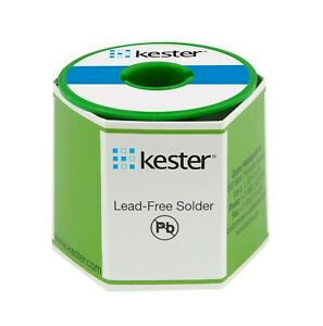 Kester Sac305 Wire Solder 331 Water Soluble Lead Free 020 66 Core 24 7068 6401