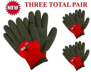 Cordova 3905 Cold Snap Max Winter Work Glove Lined Size Lg Or Xl 3 Pair