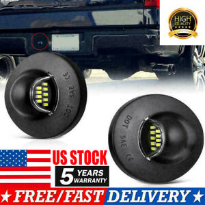 Ford F150 F250 F350 90 14 Pickup Truck Bright Smd Led License Plate Light Lamp