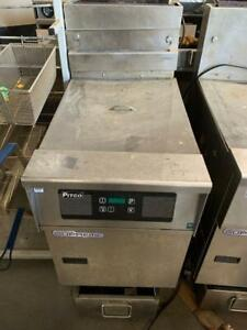 Pitco Sfssh 75 Solstice High Efficiency 75 Lb Gas Fryer With Filter System