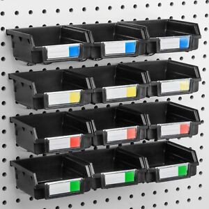 12 Pack Organize Hardware Hooks To Any Peg Board Attachmentstool Shed Workbench