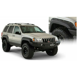 Bushwacker For 1999 2004 Jeep Grand Cherokee Fender Flares Front Pair 10071 07
