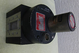 Sector Microwave Wr229 Four Port Waveguide baseball Switch 117vac C Band