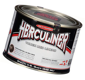 Herculiner Truck Bed Liner Black 1 Quart