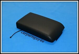06 10 Ford Explorer Mercury Mountaineer Black Leather Center Console Lid