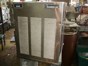 Scotsman Icemaker 800 Nugget Ice Machine Restaurant Use 800 Of Ice