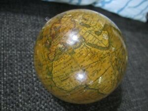 Rare Newton S New Improved Miniature Terrestrial Globe C 1860 Nice