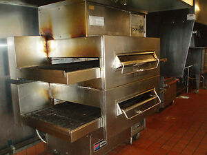 Middleby Marshall Ps 360q 2deck Lincon Impinger Stacked Gas Pizza Oven Detroit