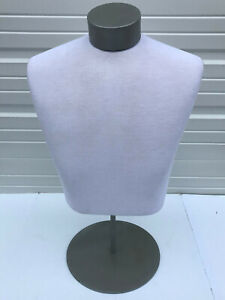 Mannequin Table Top Formed With Jersey Top And Adjustable Stand