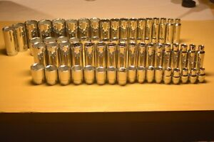 Sk Socket Set Sae Metric 1 2 Drive 66pc Usa S k