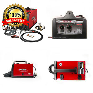 Lincoln Electric 230 volt 180 amp Mig Flux cored Wire Feed Welder
