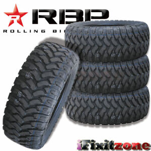 4 Rolling Big Power Rbp Repulsor Mt 37x13 50r20lt 127q All Terrain Mud Tires