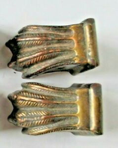 4 Claw Foot Brass Feet Furniture Feet Leg Trim Vintage Hardware Salvage Parts
