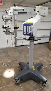 Carl Zeiss Opmi Visu 200 S8 Stand Surgical Operating Microscope Ophthalmology