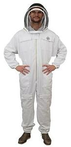 Humble Bee 411 Polycotton Beekeeping Suit With Fencing Veil large