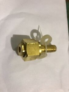 Cga 320 Co2 Carbon Dioxide Nut 3 Nipple With Washer