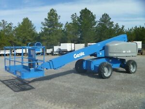 2007 Genie S60 Telescopic Boom Lift 4x4 Deutz Diesel