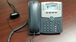 Cisco Spa508g 8 Line Ip Telephone Poe With Power Adapter
