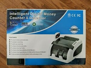 Intelligent Money Counter Machine Digital Digital Cash Bank Sorter Currency
