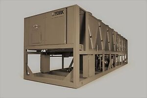 2020 York 210 Ton Air Cooled Chiller Variable Spd Screw 200 220 N American Made