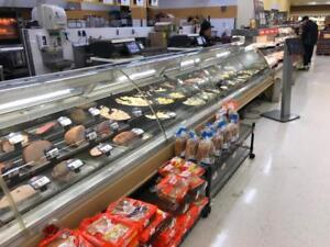 Hill Phoenix Curved Glass Service Deli Meat Cheese Or Fish Display Case