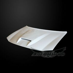 2006 2010 Dodge Charger Srt Style Functional Ram Air Hood 90 Day Warranty