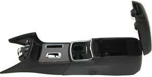 2011 2017 Dodge Charger Floor Center Console W Cup Holder Black Police Upgrade
