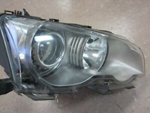 01 03 Bmw E46 325ci 330ci Coupe Right Headlight Xenon Hid Lamp Oem H2