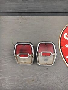1962 1963 1964 Chevy Ii Nova Tail Lights
