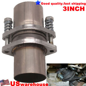 3 Inch 76 2mm Universal Quickfix Exhaust Spring Bolt Flange Repair Pipe Kit 304