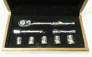 Snap On 70th Anniversary Ratchet Socket Set